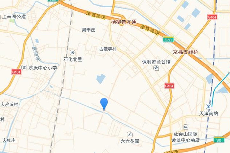 天津中骏·雍景府位置图