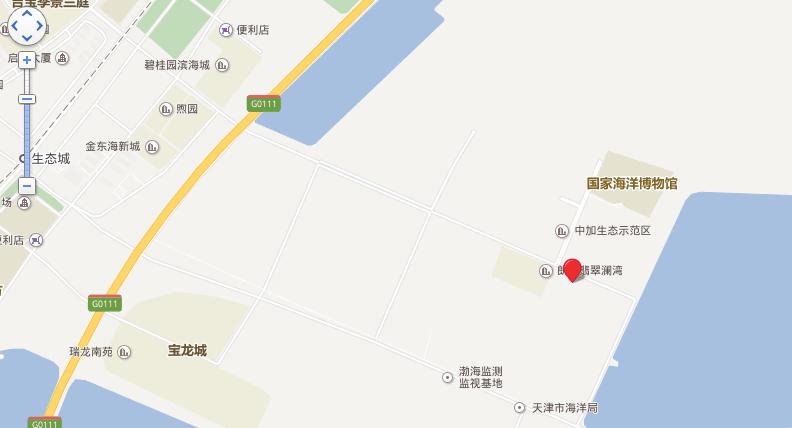 中福朗诗翠微澜阁位置图