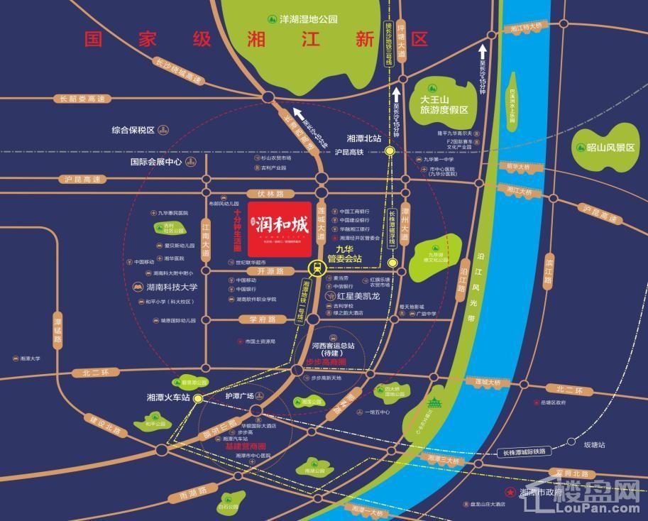 润和城位置图