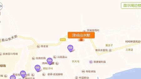 津成山水墅位置图
