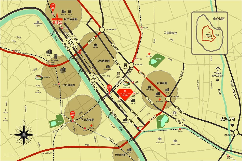 中建悦府位置图