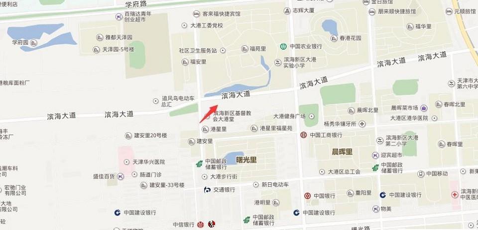 津成佳园位置图