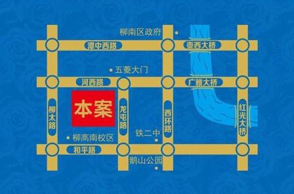 铁投玫瑰园位置图
