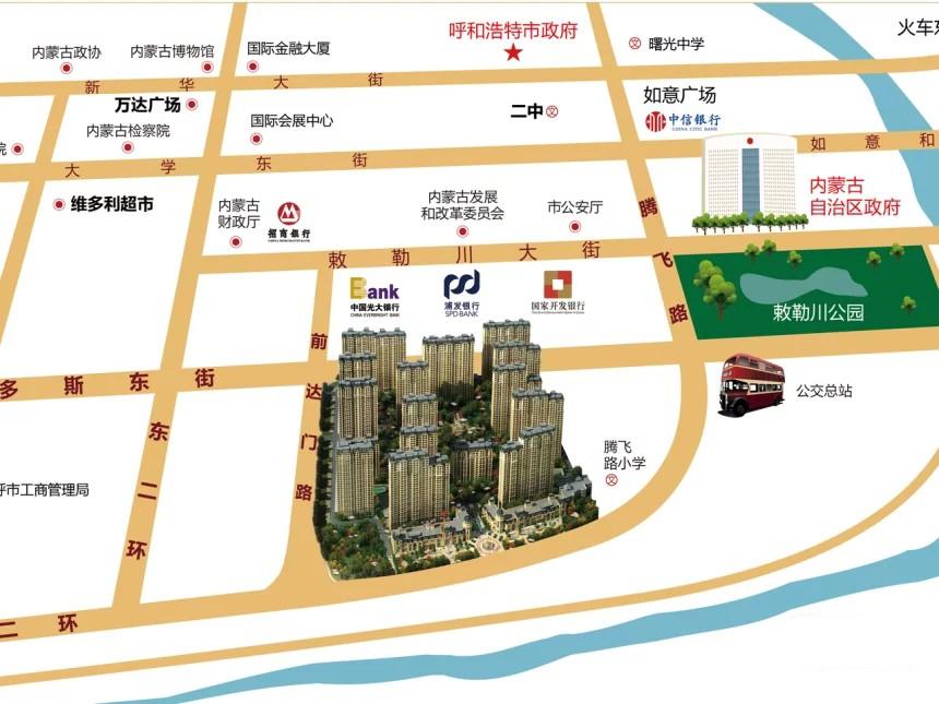 新华联雅园位置图