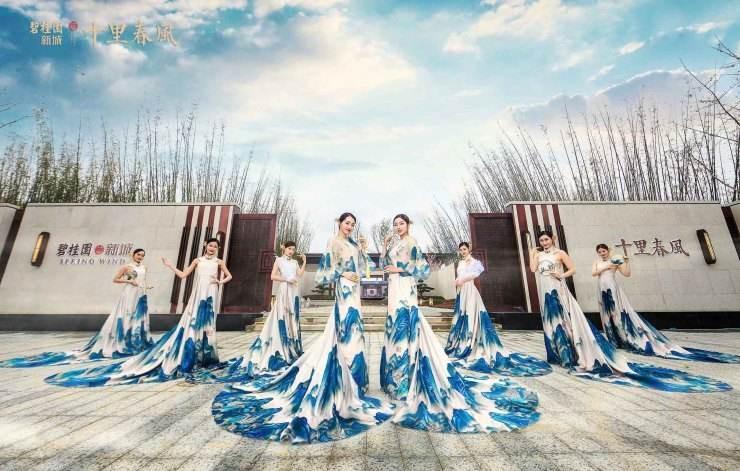 碧桂园 十里春风效果图