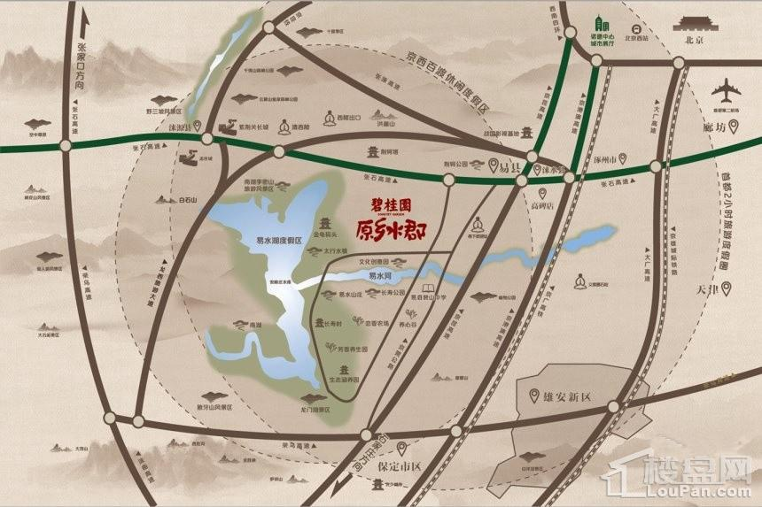 碧桂园·原乡水郡位置图