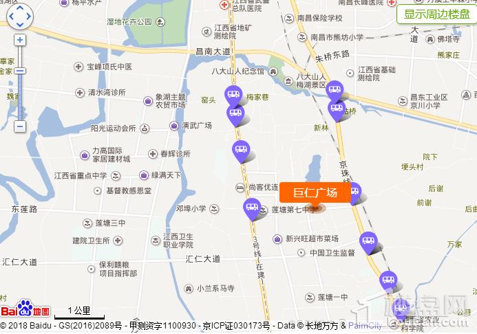 巨仁广场位置图