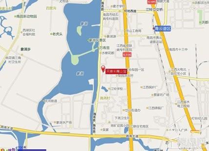 天使水榭公馆位置图