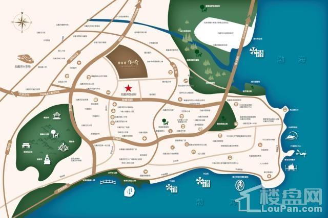 碧桂园御府位置图