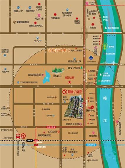 明园九龙湾位置图