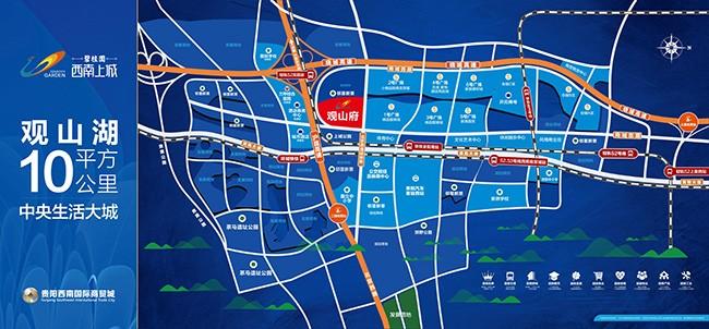 碧桂园西南上城位置图