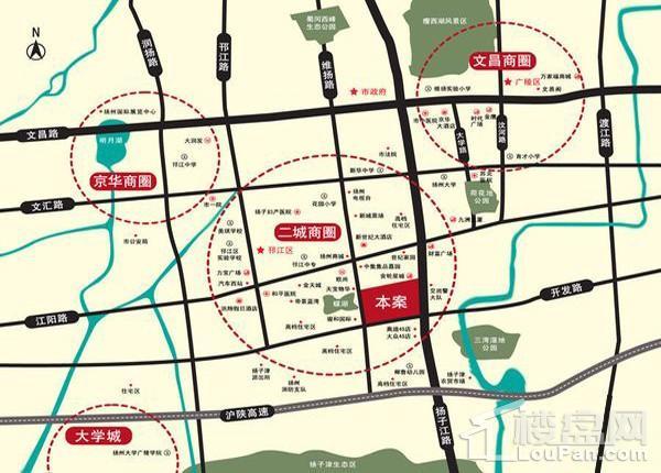 宝龙金轮广场珑寓位置图
