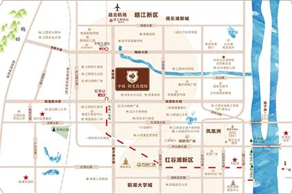 中海阳光玫瑰园位置图