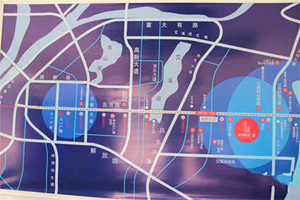 航天科创广场位置图