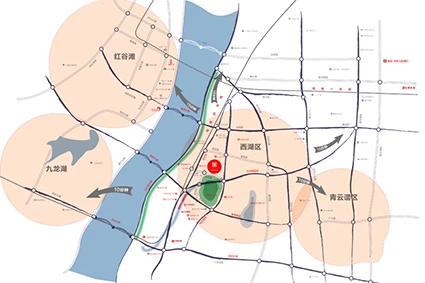 联发公园前位置图
