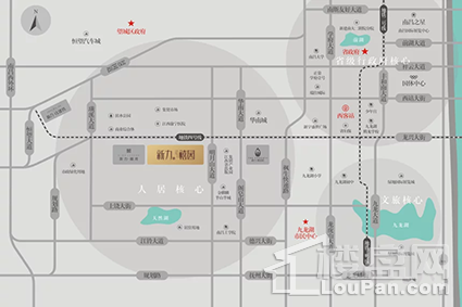 新力禧园位置图