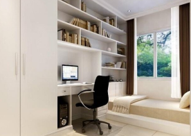 书房装修小空间怎么设计