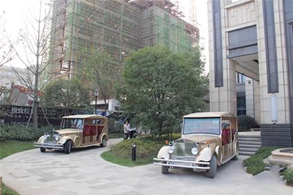 中央香榭实景图