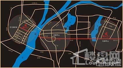 高新绿地中心位置图