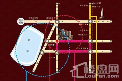 巨成广场金山街位置图