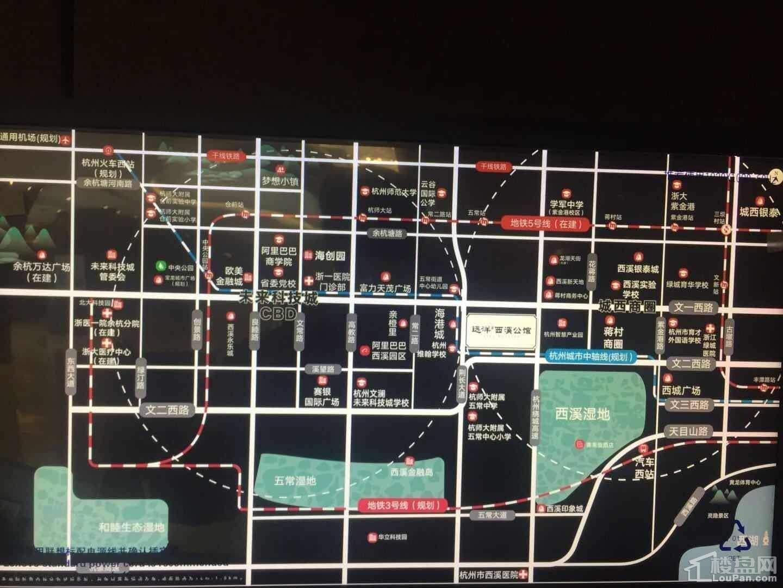 遠洋西溪公館位置圖
