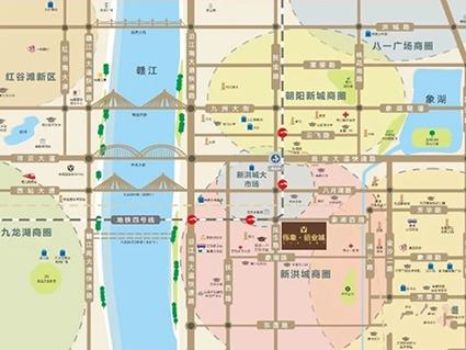 伟象佰业城位置图