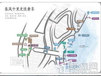 中铁春风十里位置图