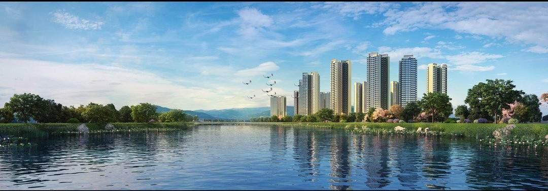 颐安灝景湾在售建面约105-118-128㎡三至四房,参考均价15500元/㎡