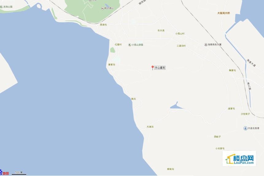 伴山澜湾位置图