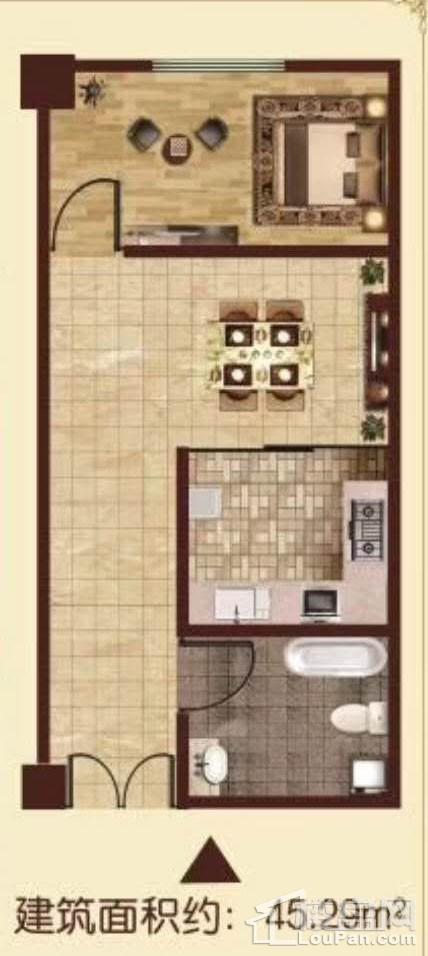 公寓户型1