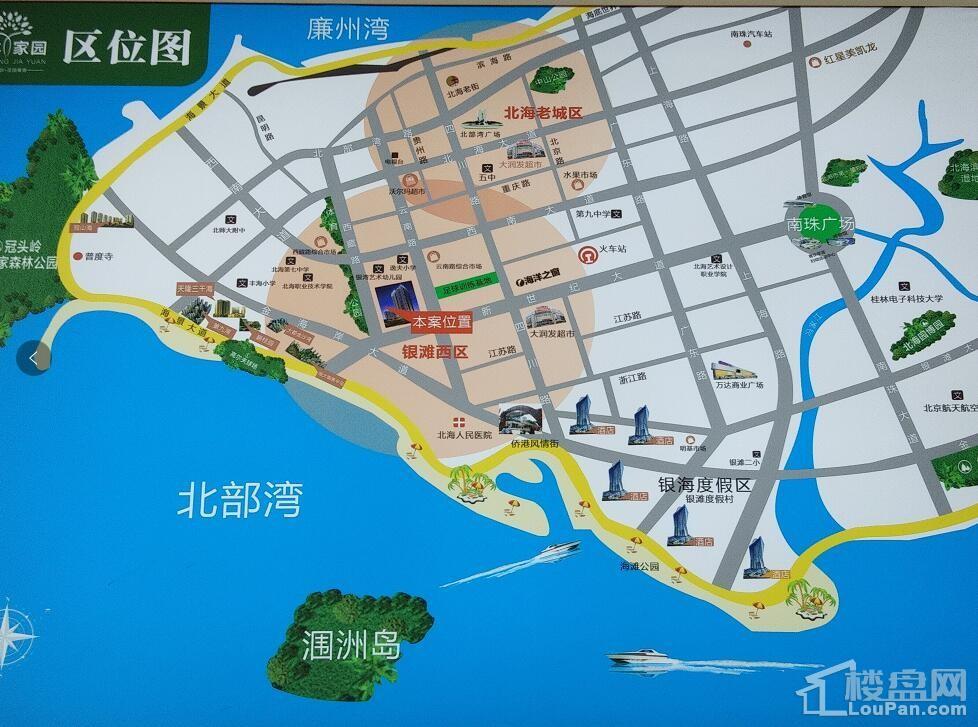 乾丰家园 位置图