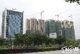 正和城4月工程进度播报:C1#公寓完成第26层 封顶大吉