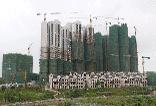 广投·龙象城4月工程进度播报:13#楼外架拆除中