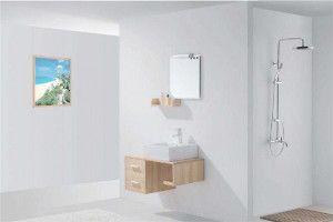 想要防水好就要知道怎么选购家居浴室柜